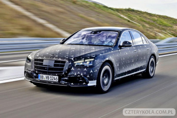 Nowy Mercedes S-class W223. Jakie nowe opcję będzie miała Klasa S w roku 2020.